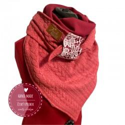 Oboustranný zimní šátek
