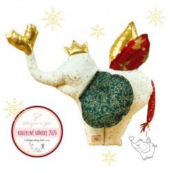 Vánoční kouzelný slon...